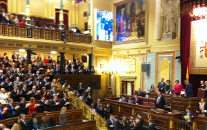 Congreso Diputados, tras debate investidura, 20 de diciembre 2011
